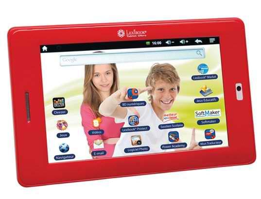 tablette tactile lexibook ultra