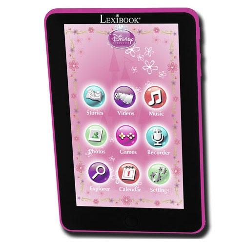 Tablette lexibook princess
