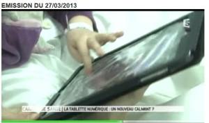tablette enfant malade